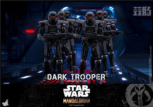 Hot Toys推出《曼达洛人》第二季黑暗士兵1:6比例珍藏人偶 黑暗士兵 曼达洛人 星球大战 HT Hot Toys 模玩  第5张