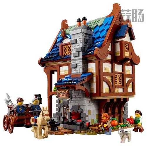 乐高推出Castle系列21325中世纪铁匠小屋套装 中世纪铁匠小屋 21325 Castle 乐高 模玩  第8张