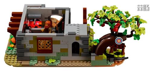 乐高推出Castle系列21325中世纪铁匠小屋套装 中世纪铁匠小屋 21325 Castle 乐高 模玩  第7张