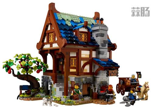 乐高推出Castle系列21325中世纪铁匠小屋套装 中世纪铁匠小屋 21325 Castle 乐高 模玩  第6张