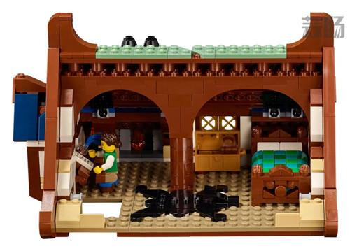 乐高推出Castle系列21325中世纪铁匠小屋套装 中世纪铁匠小屋 21325 Castle 乐高 模玩  第10张