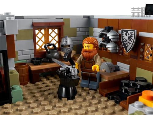 乐高推出Castle系列21325中世纪铁匠小屋套装 中世纪铁匠小屋 21325 Castle 乐高 模玩  第11张