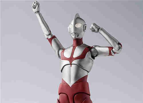 万代推出SHF《新·奥特曼》初代奥特曼可动人偶
